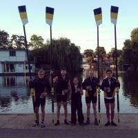 IM3 4+ Winners - Walton and Weybridge Regatta 2014