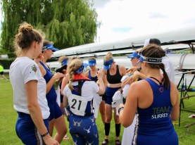 Senior Women // Crew chat after the race