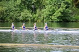 Senior Women // Senior 4x time trialling at Henley Women's Regatta