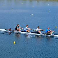 Senior Men // 4+ at the training camp in Dorney Lake.