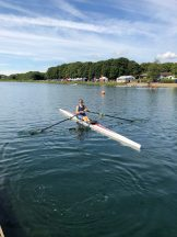 GB start rower Maddy Brown