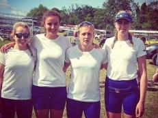 Rachel, Cecile, Lizzi and Charlotte