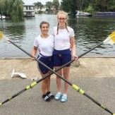 Winning at Molesey Regatta - WIM12x