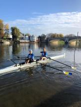 Megs & Jas boating for KSBH