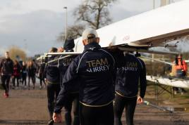 Men's beginner 8+ 'A boating for their first race