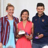 Kat Copeland (Olympian), Maile and Samuel Tuck (USBC Head Coach)