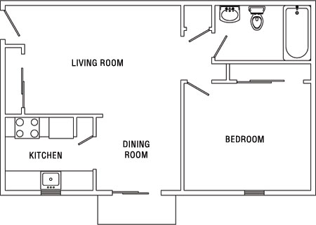 1bedroom 1 Bedroom Apartments