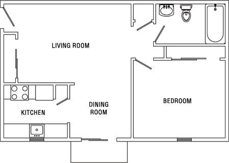 1bedroom 1 Bedroom Apartments