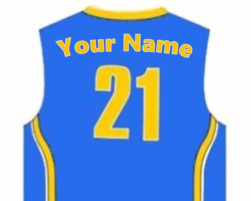 Blue unifom name Gold ... 84ba6e0b1