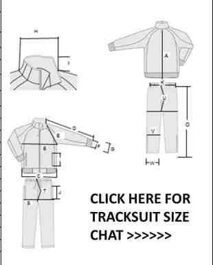tracksuit size