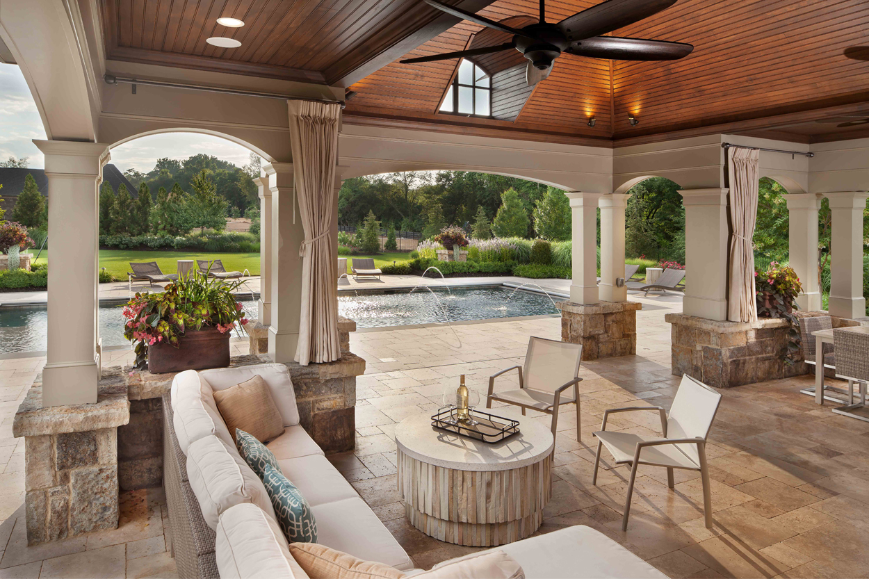 Furnishing Outdoor Living Spaces in Leesburg Virginia ... on Garden Living Space id=12632