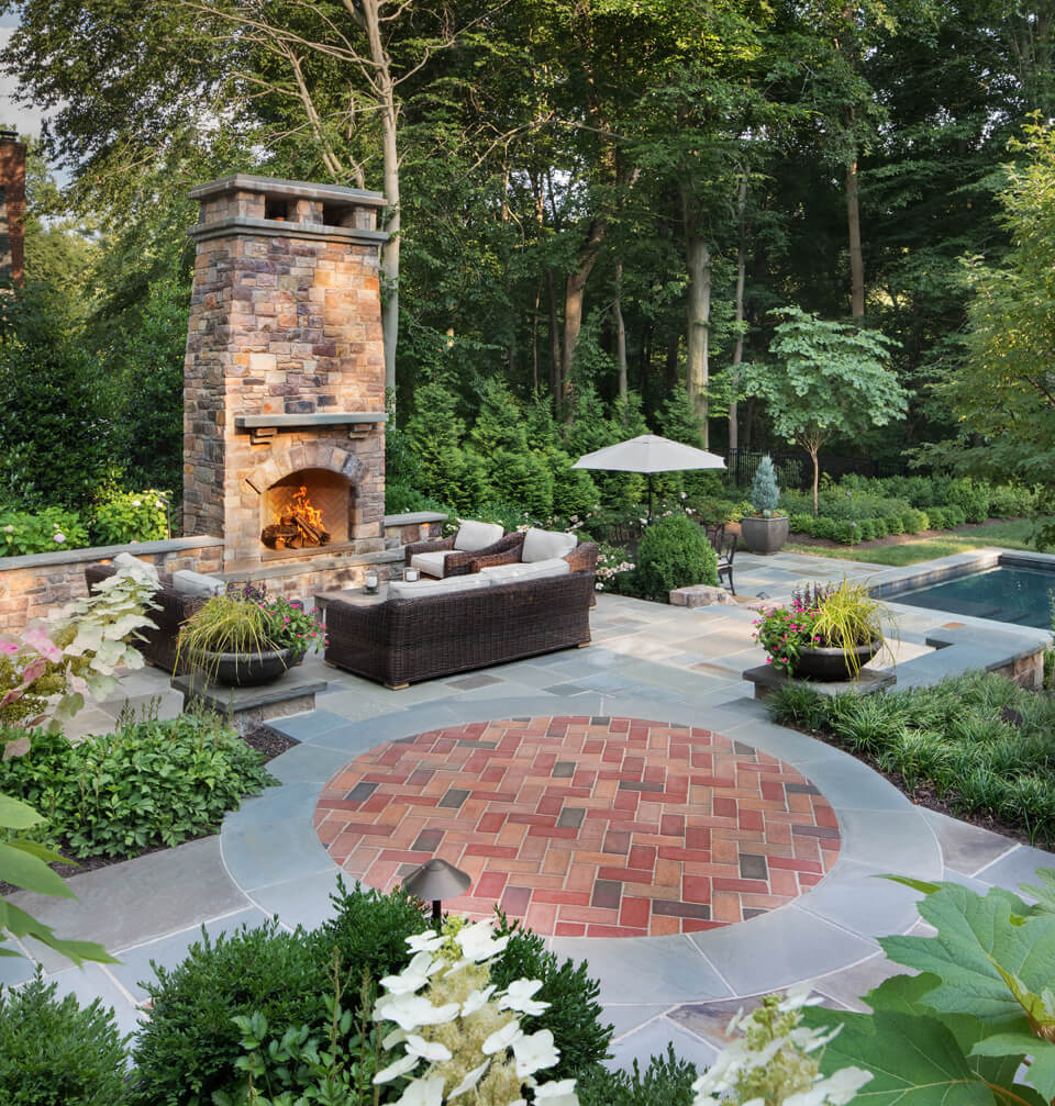 Plan the Perfect Outdoor Fireplace for Your Backyard ... on Fireplace In Yard id=46865