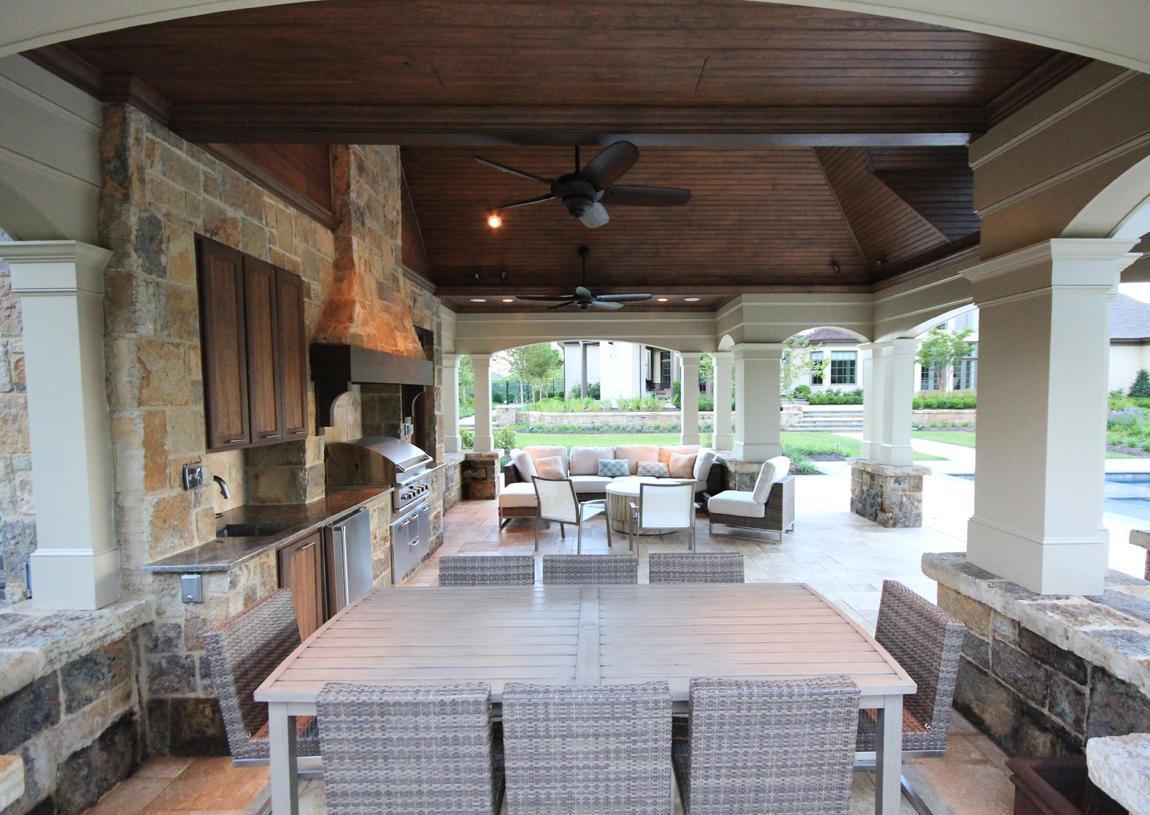 Outdoor Kitchen Design Essentials | Surrounds Landscape ... on Backyard Kitchen Design id=29121