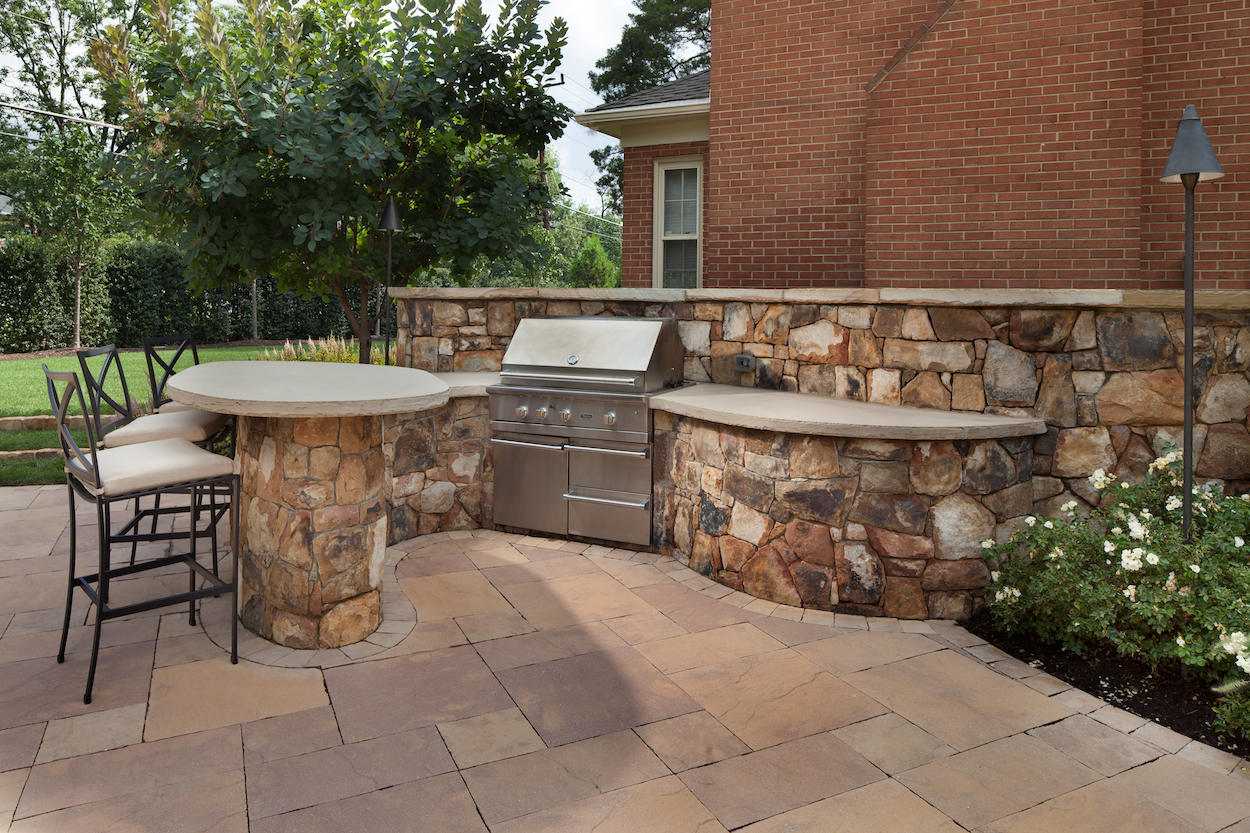 patio grill station & bar | Surrounds Landscape ... on Patio Grill Station id=86595