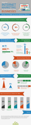 Infographic Internet Marketing And Their Impact Vis A