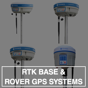 RTK BASE & ROVER GPS SYSTEMS