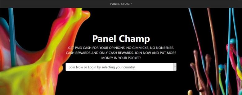 Sito Web di Panel Champ