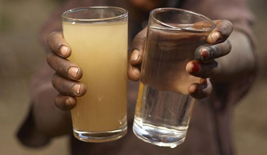 Dirty VS Clean Drinking Water