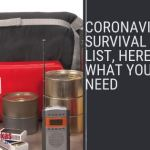 CoronaVirus Survival Kit List