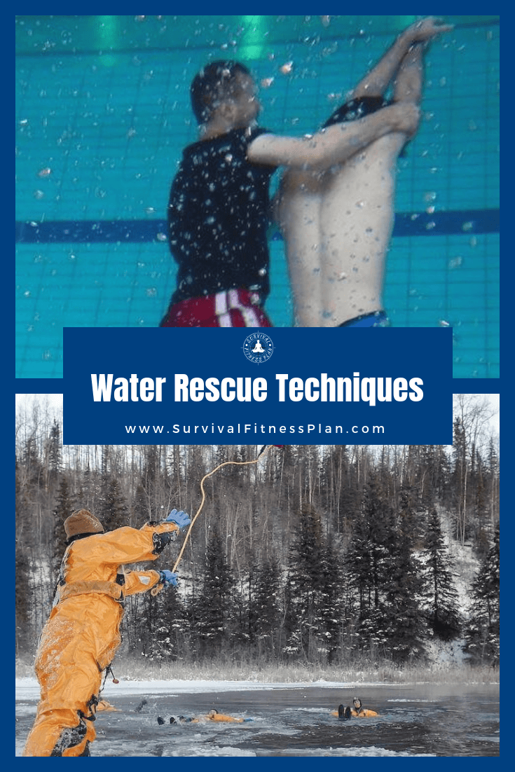 Pin 2, Basic Water Rescue Training Online, Survival Fitness Plan