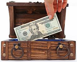 Hiding money