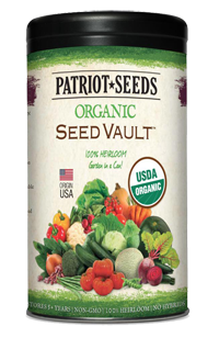 Organic Seed Vault
