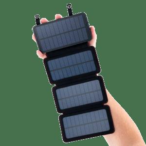 QuadraPro Dual USB Solar Power Bank