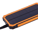 Dualpow Portable Dual USB Solar Battery Charger
