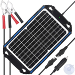 SUNER POWER Waterproof 12V Solar Battery Charger