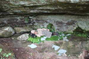 Cliff hollow, Appalachia, Kentucky, USA, Discovery Channel