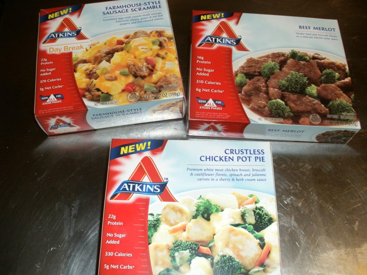 Atkins TV Dinners
