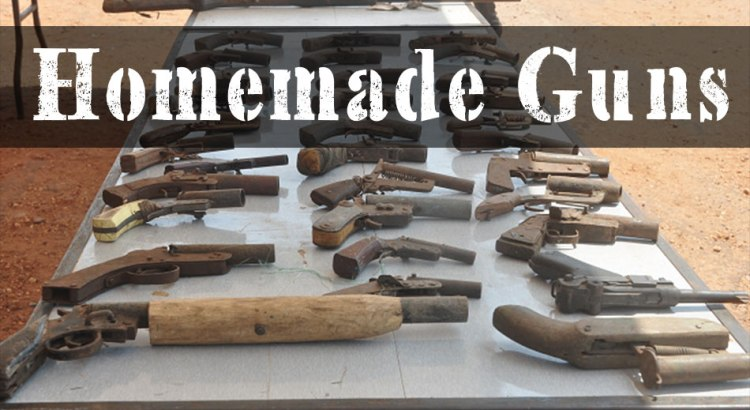 Homemade Guns A How To On Legally Making Firearms