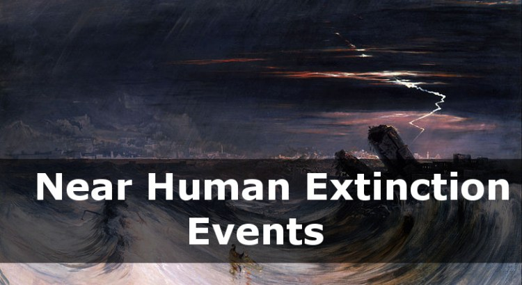 Lessons From Near Human Exnction Events| episode 153 extinction events