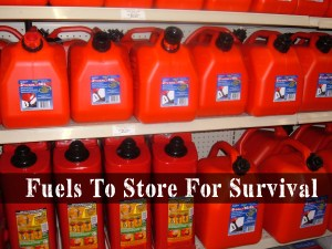 Fuels To Store For Survival | episode 161