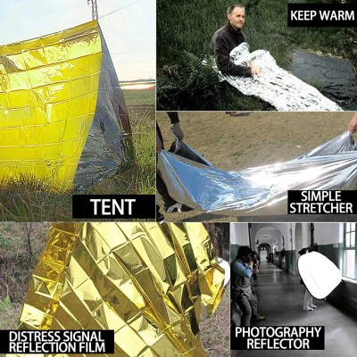 rettungsdecke kaufen Notfalldecke, Sicherheitsdecke, Thermodecke, Überlebensdecke Space Blanket