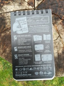 notizblock wasserfest notizbuch schlechtes wetter regen