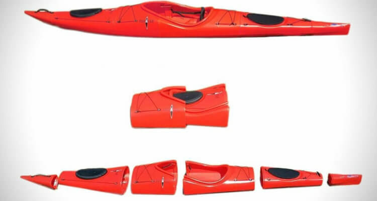 Survival kayaking with a twist