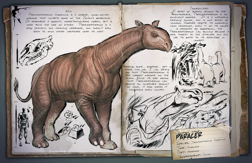 Paraceratherium Survive Ark Ark daeodon taming and breeding! paraceratherium survive ark