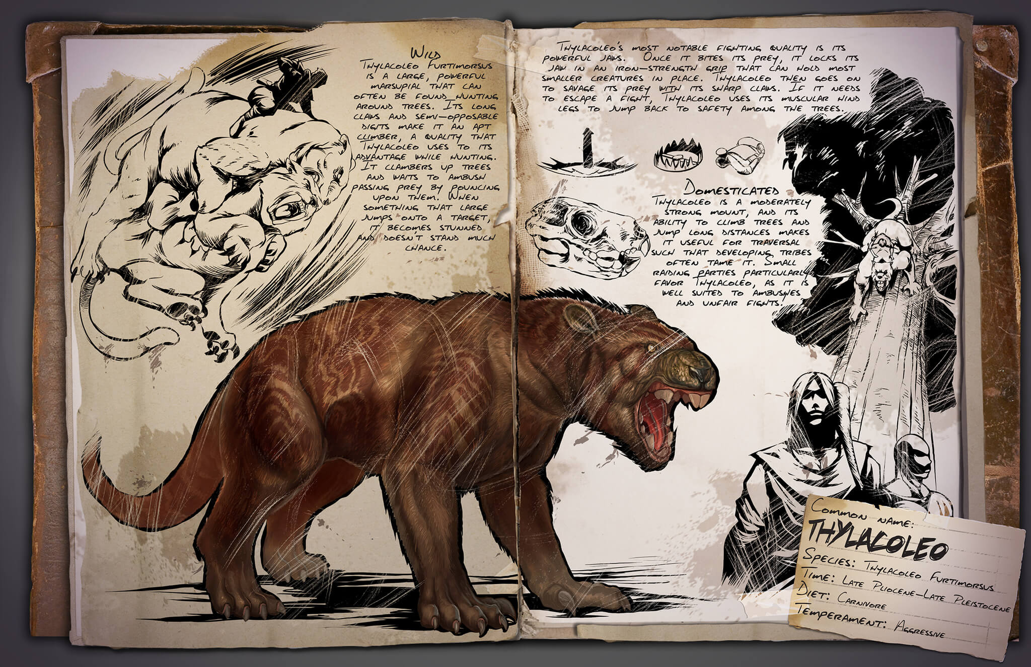 Thylacoleo Survive Ark Ark survival evolved is out now for pc, ps4 and xbox one. survive ark