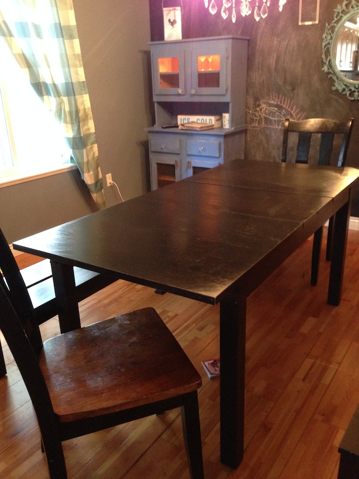 How I Forced An Ikea Table To Turn Into A DIY FarmHouse
