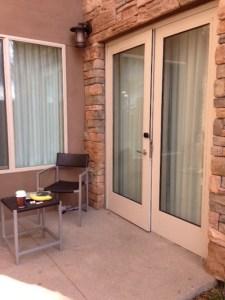Residence Inn Tustin Deck