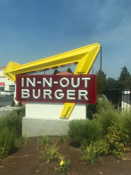 closest In N Out to Canada is in medford, oregon