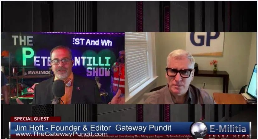 """""""The Next Two or Three Weeks Are Gonna Be Critical"""" To Save America – Jim Hoft With Pete Santilli"""