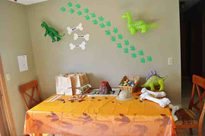 Orange And Green Dinosaur Birthday Party With Such Darling Ideas Via Kara S Karaspartyideas
