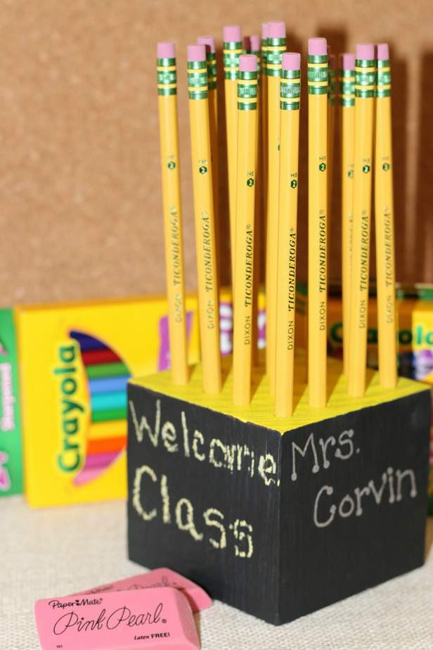 Diy Homemade Pencil Holder Teacher T Idea