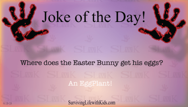 Daily Joke: Where Does The Easter Bunny Get His Eggs?