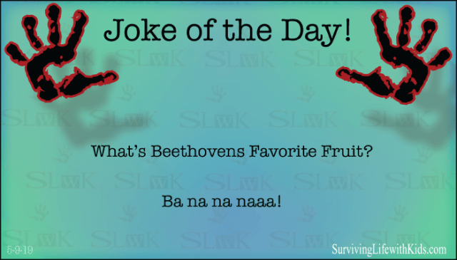 What's Beethovens Favorite Fruit?