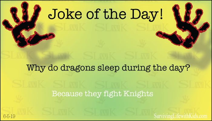 Why do dragons sleep during the day?