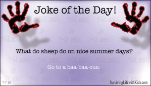 What Do Sheep Do on Nice Summer Days?