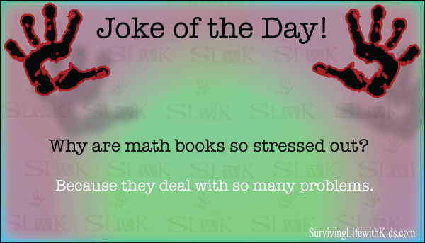 Why are math books so stressed out?